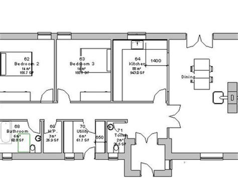 irish cottage floor plans modern bungalow house plans ireland modern small house