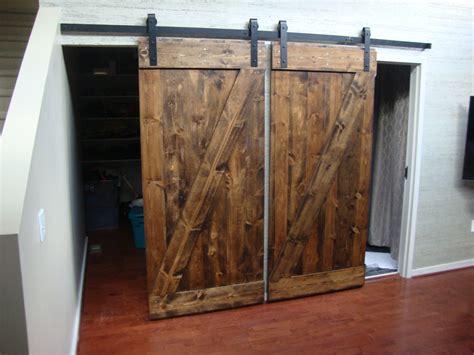 Zstylebarndoor Unframed Darkwalnut 01 Atlanta Barn Barn Doors Atlanta