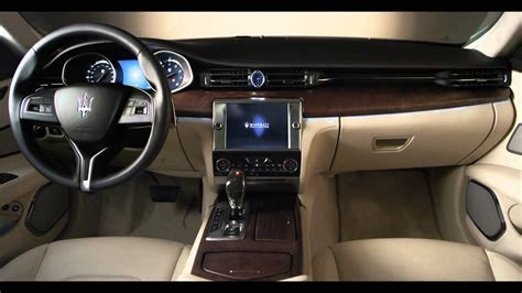 maserati inside 2013 maserati quattroporte in detail first full commercial