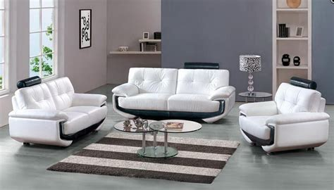 white leather sofa set white leather sofa set with black accents miami florida