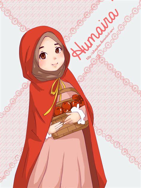 wallpaper anime muslimah humaira by sheepikos on deviantart
