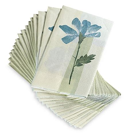 buy croscill 174 spa leaf disposable buffet guest towels set