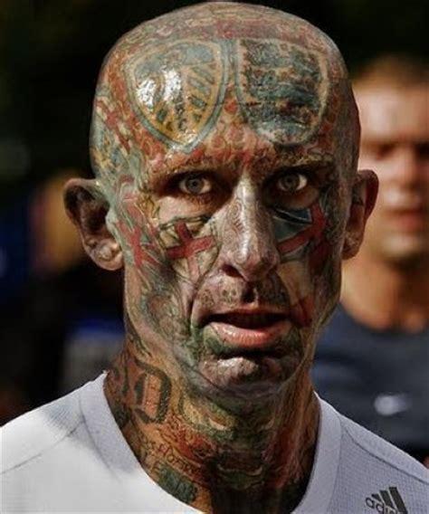 leeds tattoo head 25 insane face tattoos holytaco