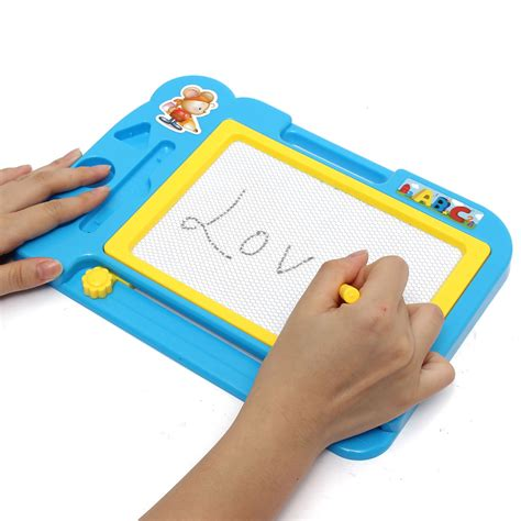 Kid Magnetic Drawing Board Sketch Pad Painting Writing