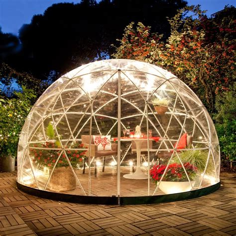 garden igloo the garden igloo 360 dome perfect for your inflatable hot tub