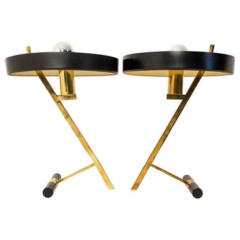 Z Shaped Desk with Pair Of Z Shaped Desk Ls By Louis Kalff For Philips At 1stdibs