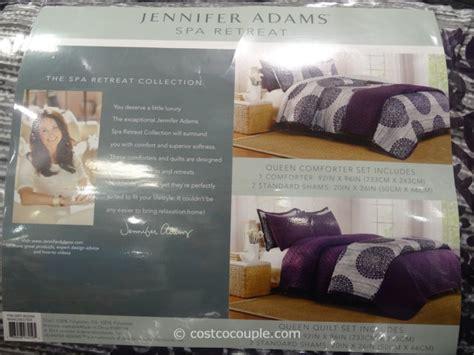 jennifer adams queen bed ensemble set