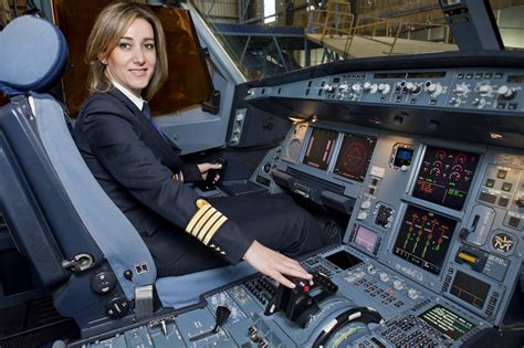 commercial woman pilot in a man s world executive magazine