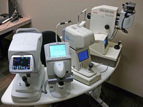Alat Test Mata alat periksa di klinik mata biomedical engineering