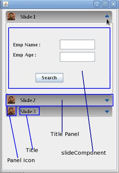 Java Panel Jpanel Swing Exle 28 Images Java Jpanel