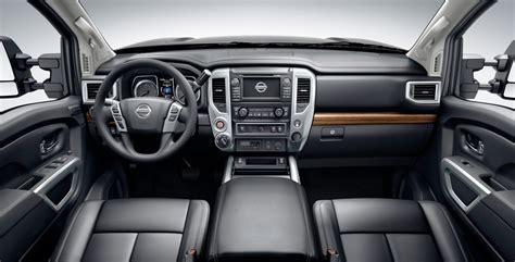 nissan titan interior 2016 2016 nissan titan xd first look wheels ca
