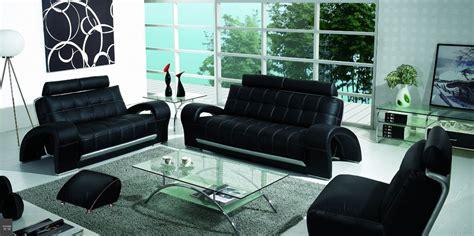 black sofa set designs bentley contemporary black sofa set padstyle interior