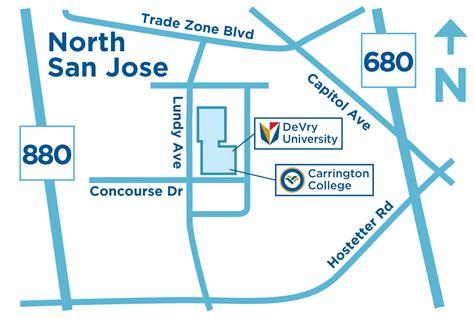 san jose regional hospital map college san jose california center