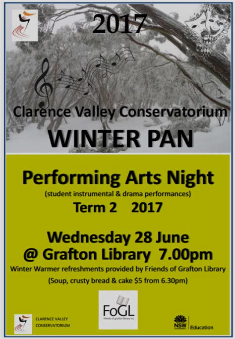 igo teens online fine arts club join us today free performing arts night grafton library 28th june