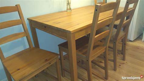 ikea tisch jokkmokk maße st 243 ł i 4 krzesła ikea jokkmokk warszawa sprzedajemy pl