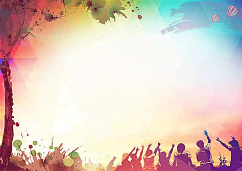 Background Design For Youth | youthful poster background the vitality of youth