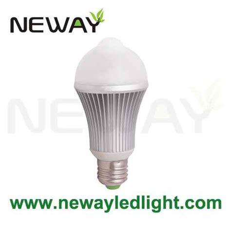 motion detector light bulb motion detector led light bulb 5w 7w e27 light bulb motion