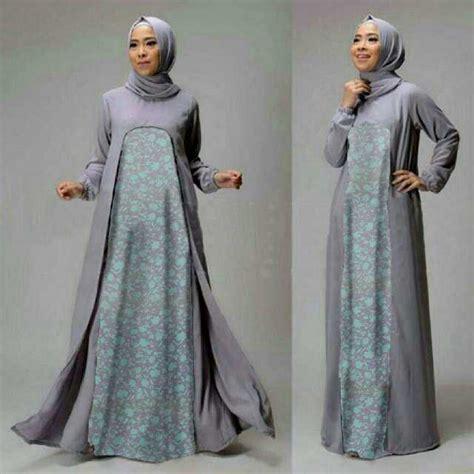 Baju Gamis Wanita Busana Muslim Wanita Terbaru Fft 3 model baju setelan gamis muslim wanita terbaru dan modern