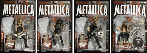 Metalica Boxed Set Figure Figure metallica figure set mcfarlane toys metallica figures at entertainment earth