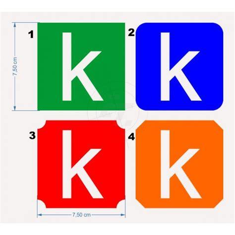 Buchstaben Aufkleber Klein by Aufkleber Kleinbuchstaben In Negativform Mit
