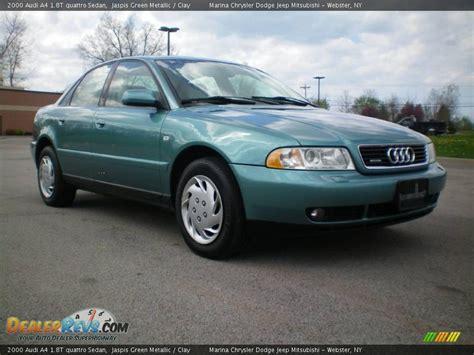 2000 audi a4 quattro 1 8t 2000 audi a4 1 8t quattro sedan jaspis green metallic