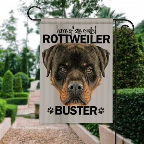 dog house for rottweiler rottweiler dog breed personalized house garden flag banner front porch garden flags