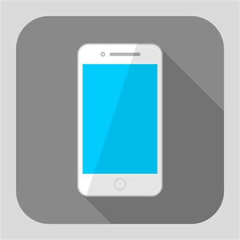 design icon iphone vector for free use flat iphone icon