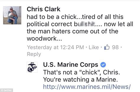 come out of the woodwork marine corps slams critics of ad featuring a