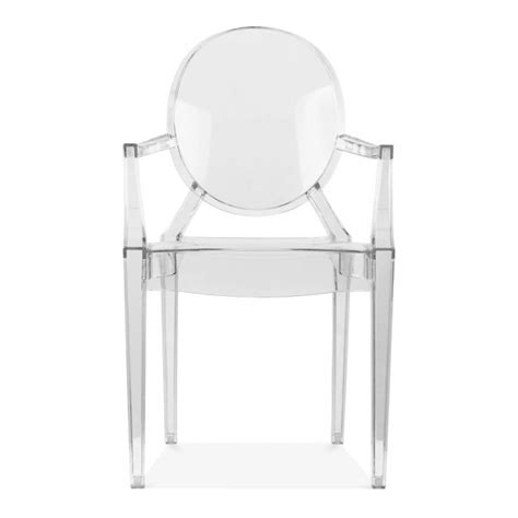 clear armchair clear ghost style louis armchair modern armchairs cult uk