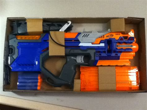 Nerf Hyperfire Orange Trigger img 5754 blaster hub
