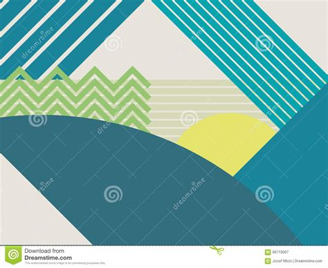 abstract pattern landscape abstract polygonal background vector royalty free stock