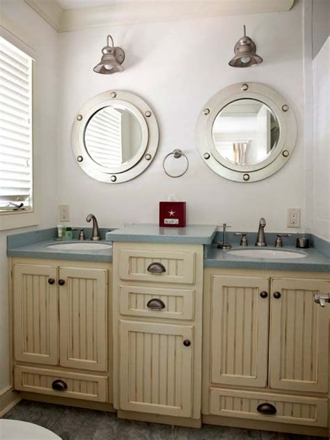 best 25 nautical bathroom mirrors ideas on