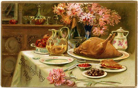 Thanksgiving Free Clip Vintage by Vintage Thanksgiving Turkey Dinner Clip Design