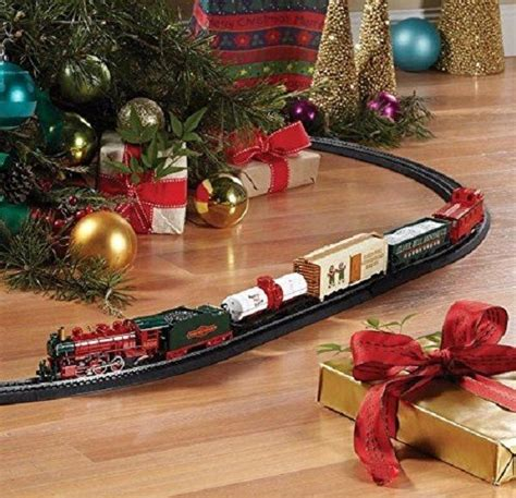 train set for christmas tree adult children electric toy