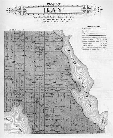 evangeline resort map maps walloon lake michigan wanderings