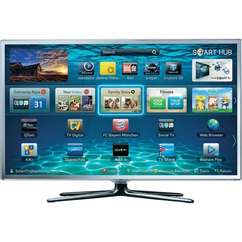 Samsung 3d Samsung Ue37es6710sxzg Smart 3d Wi Fi Enabled Hd Led Tv From Conrad