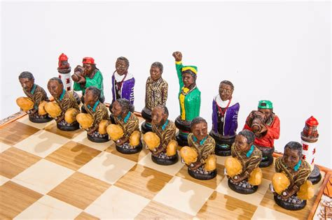 unique chess sets a south political themed chess set depicting the