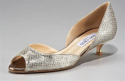 gold flat shoes for nearly flat wedding shoes gold jimmy choos