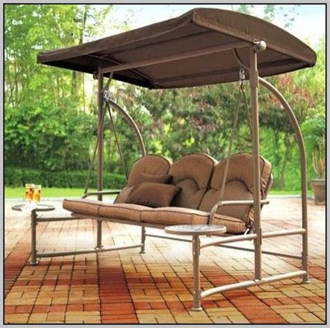 patio swing cushion replacement walmart replacement canopy for mainstays sand dune 3 seater
