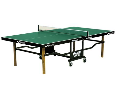 butterfly t24 nippon rollaway ping pong table