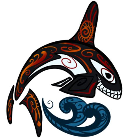 tribal orca by senaru on deviantart