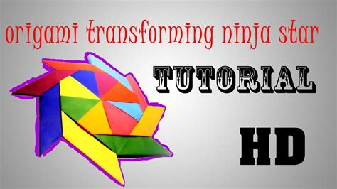 How To Make Transforming Origami - origami transforming tutorial