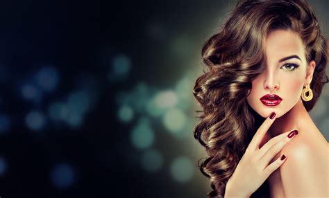 beautiful model beautiful model with curled hair 5k retina