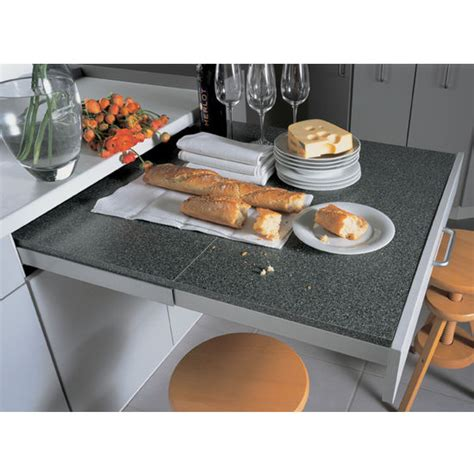 Pull Out Kitchen Table Top Flex Quot Pull Out Kitchen Table System From Hafele Kitchensource