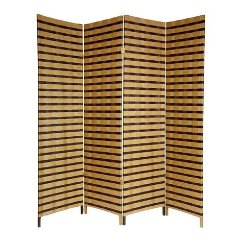 Shop Oriental Furniture Room Dividers 4 Panel Multicolor Privacy Room Dividers