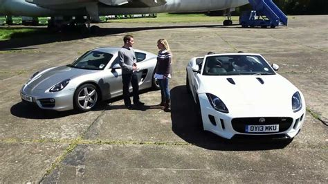 what type of car does porsche from atlanta housewives have 2013 jaguar f type vs 2013 porsche cayman which car