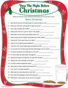 Twas The Night Before Christmas Gift Exchange Game - 1000 images about twas the night before christmas on pinterest the night before christmas