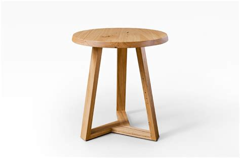 tripod coffee side table lacewood furniture