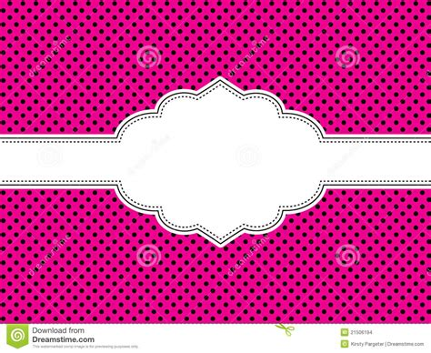 The Girly Spot Audio by Pink Polka Dot Background Stock Vector Image Of Polka
