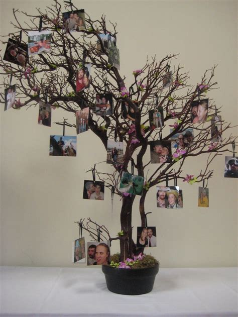 tree centerpieces ideas memory tree wedding centerpieces